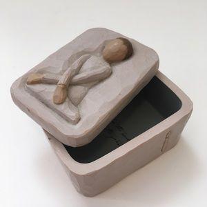 Willow Tree trinket/jewelry box - Serenity